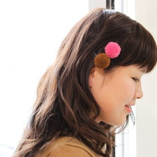 ☆ Hammock ☆ 彡 hammock wool ball hairpin