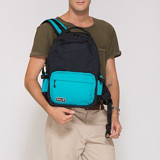 "SOLIS color Palette Series 13"" REISE premium laptop backpack(Teal/Black)"