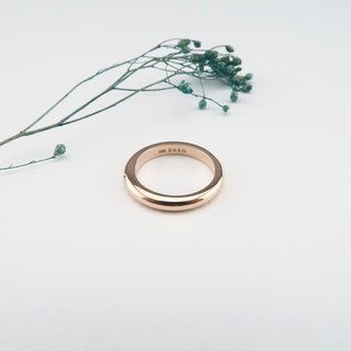 Marriage Ring Buried inlay Diamond Rose gold
