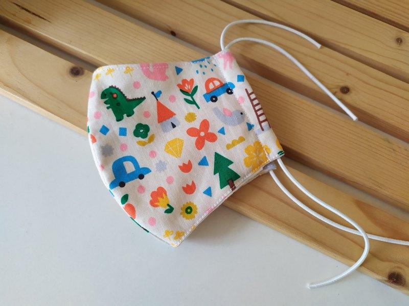好呼吸口罩:童趣  可放濾材立體口罩 幼兒 兒童 大人  口罩
