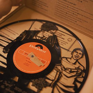 Moleyouth Vinyl Record Wall Light