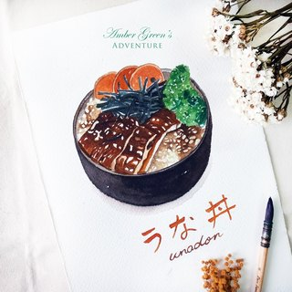 Exclusive order - food illustrations