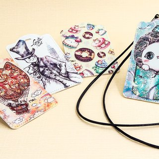 Good meow neckband Pi Shengka sets / badge / variety FIG optionally