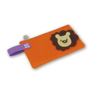 Fairy Land [Material Bag] Animal Styling Pencil Case - Lion