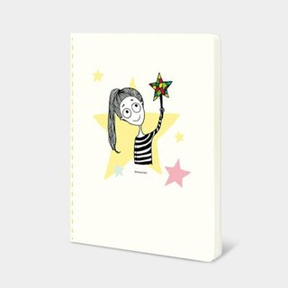 Dorothy 32K color car suture Notebook - Star (9AAAU0021)