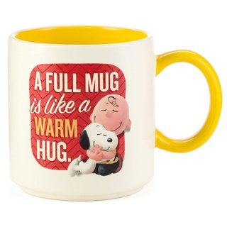 Snoopy Movie Mug - A Warm Cup (Hallmark-Peanuts Snoopy Mug)