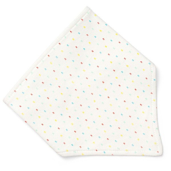 100% Organic First Kisses collection bandana bib