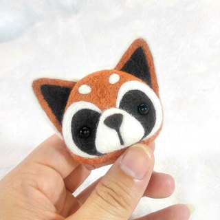 <Wool felt> Red Panda (L Size) by WhizzzPace