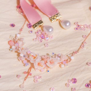 BLOSSOM Rose-gold Plated 925 Silver Necklace