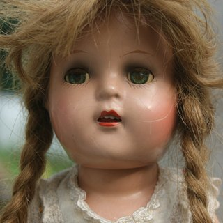 {Wild Garden} American Antique Doll Arranbee Nancy doll