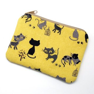 Zipper pouch / coin purse (padded) (ZS-211)