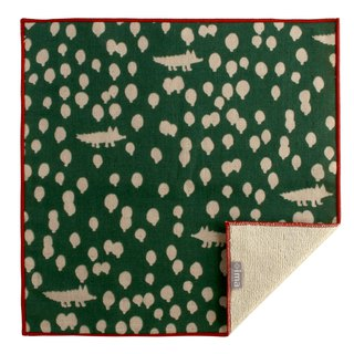 + ima WAFUKA Japan made Absorbent Soft, Cute & Unique Handkerchief - Wolves