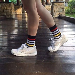 Gillian Sun Socks Collection[HOT Hot Money]1607BK_clown