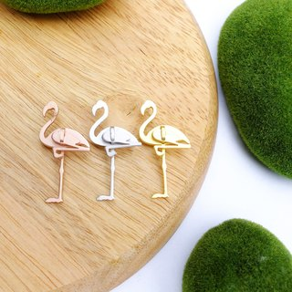 BROOCH flamingo