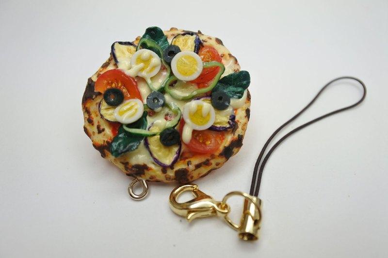 微型食品、蔬菜披薩錶帶