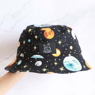 Starry universe fisherman hat