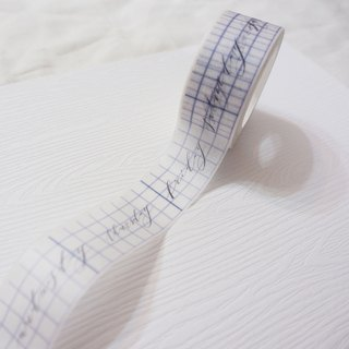 Mstandforc Washi Tape|Week|Calligraphy