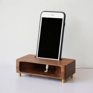 Sound Forest - Wooden Mobile Phone Amplifier (Black Walnut)-[VUCA-Design] Plus Customs