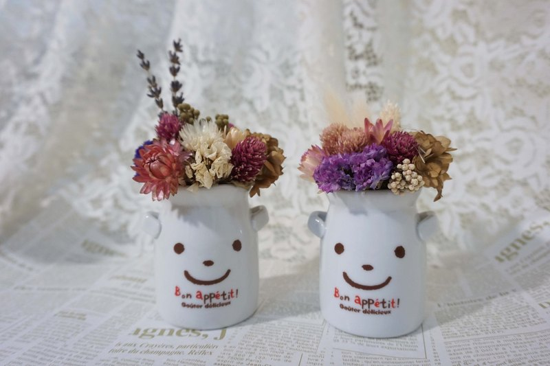 Healing Smile dried flower ceremony*exchange gifts*Valentine's Day*wedding*birthday gift