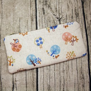 Large Zipper Pouch, Pencil Pouch, Gadget Bag, Cosmetic Bag (ZL-44)