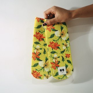 YELLOW.FLOWER-SOCK