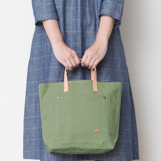 Mushroom MOGU / Portable Tote / Matcha Green / My Darling