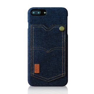 Kalo Creative iPhone 7 Plus / iPhone 8 Plus (5.5 inches) personalized tannin pocket protective shell