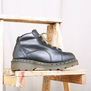 """Dr. Martens Shoes"" black five hole work boots DMH09"