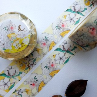 Blooming Series - Spring Cotton paper tape