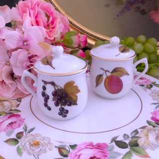 ♥ Anne Crazy Antique ♥ British Teresy Royal Worcester Antique Chocolate Cup + Cup Cover Single Cup Set ~ Romantic Birthday Gift Afternoon Tea 2