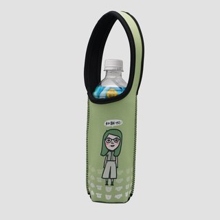 BLR insulated bottle bag cold insulation anti-collision TC76 Magai's good friend's daily conversation (green)