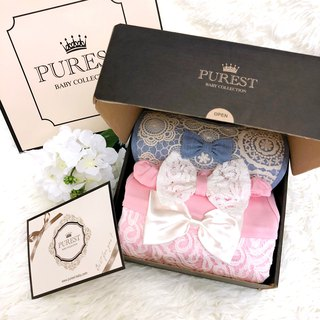 PUREST Little Princess's gorgeous dress / deluxe / gift box / baby Mi Yue / birthday / gift preferred