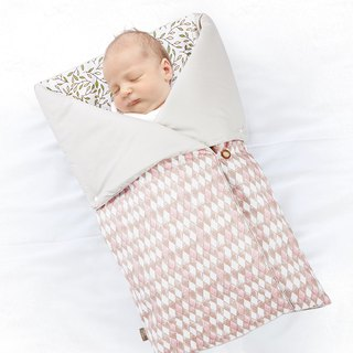 4-in-1 Swaddle Pouch & Blanket - Diamond Lattice