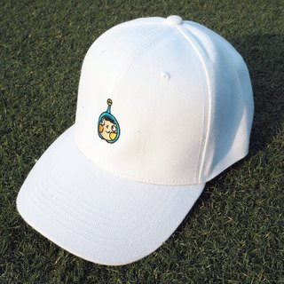 White LamHo Embroidered Cap
