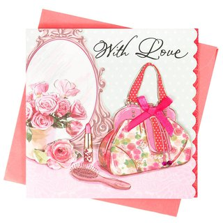 This letter is filled with my love for you [Hallmark-handmade card birthday greetings]