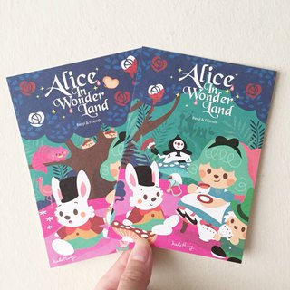 [Alice in Wonderland] Postcard Set (two sets)