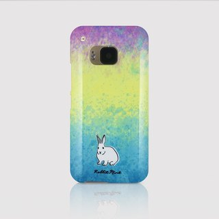(Rabbit Mint) Mint Rabbit Phone Case - Watercolor Rabbit Series - HTC One M9 (P00081)