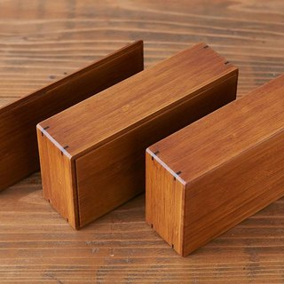 Bamboo box wiping lacquer small (lunch box) | bottom groove | bamboo box parts (B)