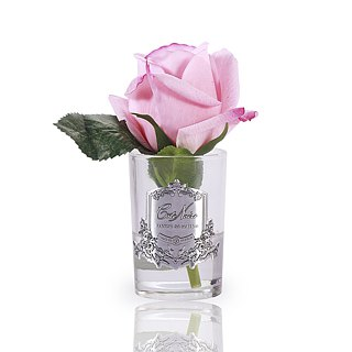 CoteNoire Fragrance Flower - Small Pink Rose Fragrance Flower