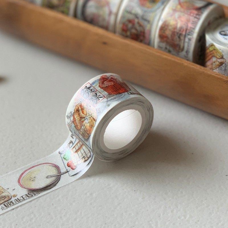 Taiwan Delicacy washi tape台灣美食 2.5cm 紙膠帶