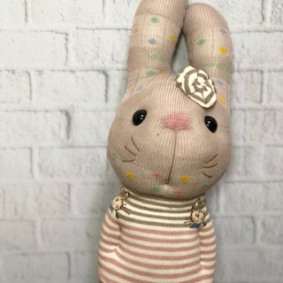 European and European rabbit 02 socks doll / current product supply / Martin hand-made