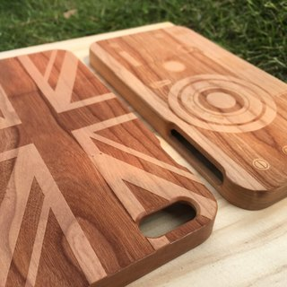 [TAB] wood texture phone case (nostalgia small series) / custom / wenchuang / wood / wood / wood / hand made / laser engraving / iphone case / wedding small objects