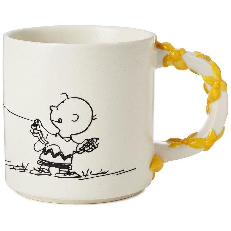 Snoopy 馬克杯-查理放風箏【Hallmark-Peanuts史努比 馬克杯】