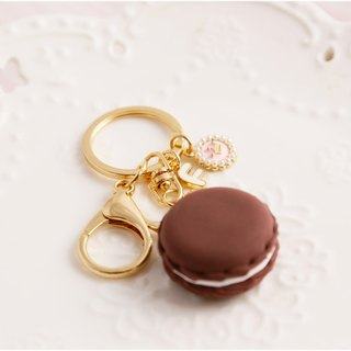 Macaron strap bridesmaid gift customized English name chocolate