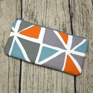 Large Zipper Pouch, Pencil Pouch, Gadget Bag, Cosmetic Bag (ZL-54)