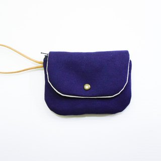 S,HU -  Purse(double layer/purple)