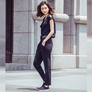 [MACACA] Everywhere cool summer jumpsuit - BSE8051 black