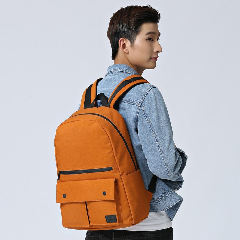 Casual sports-shaped backpack ultra-light body splash-proof Hong Kong brand Urbanist - Orange