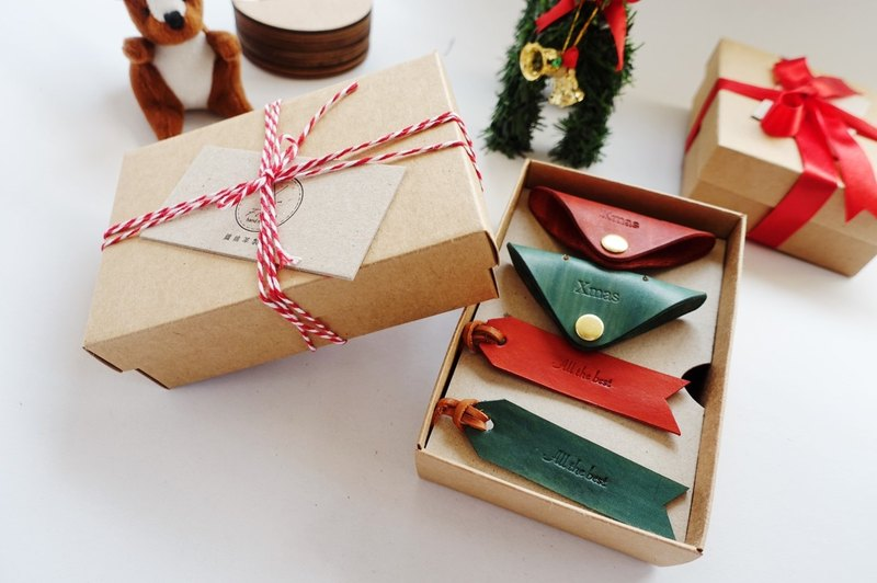 Merry Christmas Christmas Small Leather Goods Was Limited Christmas Gift Boxes And Bookmarks Hub Kit Can Free Lettering Fiber Handmade Vegetable