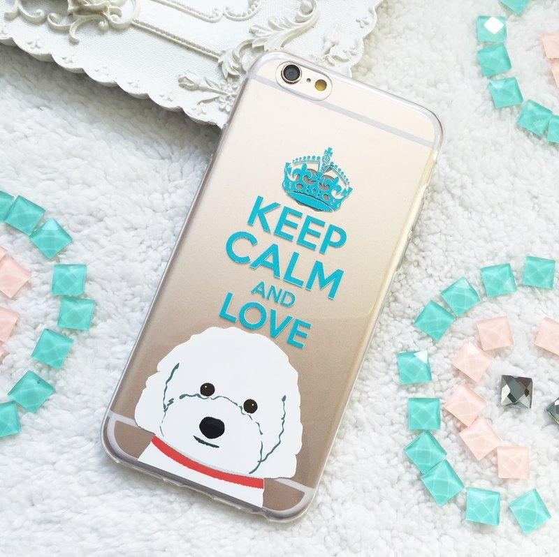 貴賓狗貴婦犬透明手機軟殼iphone 11 Pro Max Samsung S9 Note 10